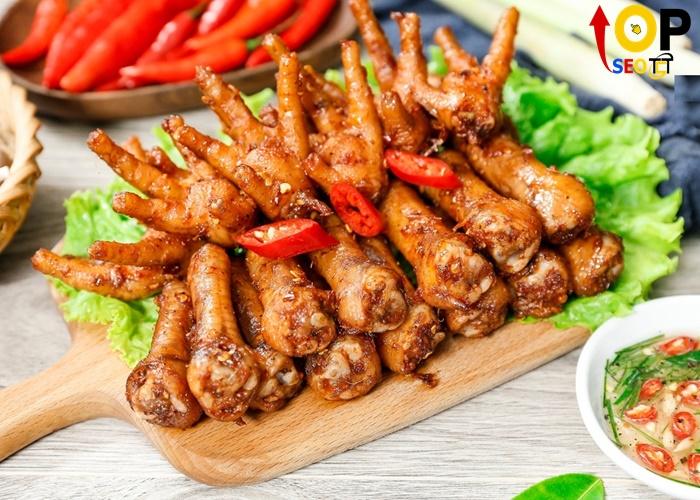 Sary - Chân gà nướng Đà Nẵng