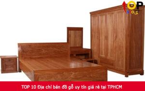 TOP 10 Địa chỉ bán đồ gỗ uy tín giá rẻ tại TPHCM