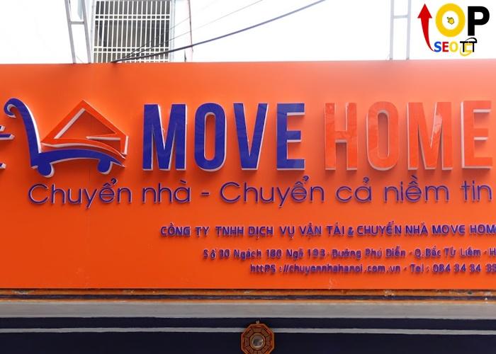 CÔNG TY TNHH DỊCH VỤ VẬN TẢI & CHUYỂN NHÀ MOVE HOME